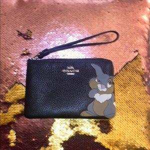 Coach wristlet/wallet  x Disney x Thumper